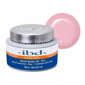 IBD LED/UV BUILDER GEL CLEAR 56G LED - RÓŻOWY