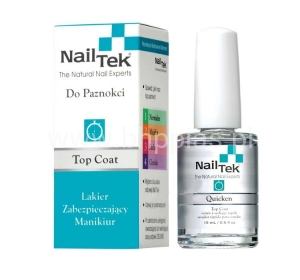 NAIL TEK QUICKEN TOP COAT WYSUSZACZ UTWARDZACZ 15ML